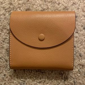 Halogen Small Leather Wallet